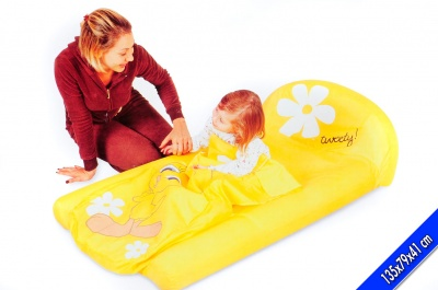 LETTINO GONFIABILE AIR BED PER BAMBINI 135x79x41 cm BESTWAY 97037